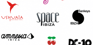 Loghi discoteche Ibiza 2014