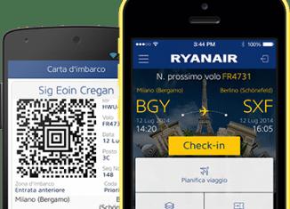 Nuova app Ryyanair