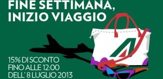 Sconto 15% Alitalia