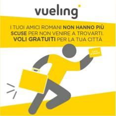 Voli Vueling gratis Roma Catania e Palermo