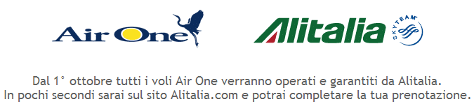 AirOne Alitalia