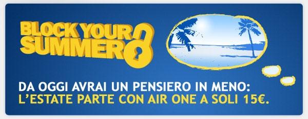 Offerta Airone Block your Summer