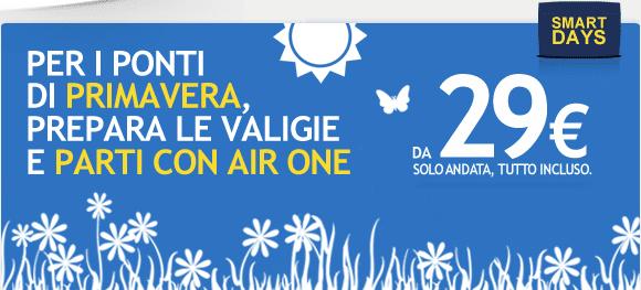 Offerta AirOne ponti 2013