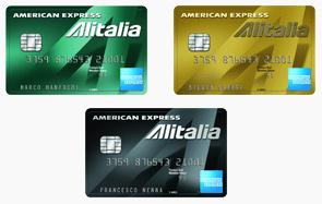 Carte American Express Alitalia Millemiglia