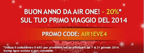 Codice sconto AirOne 2014