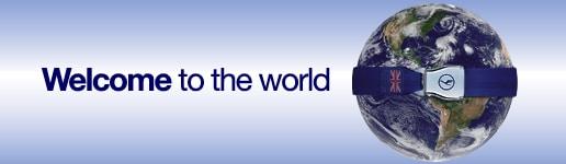 Conscorso Lufthansa Welcome to the World