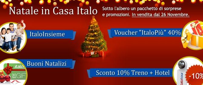 Offerte Italo Natale 2012