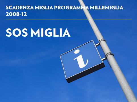 SOS Miglia Alitalia