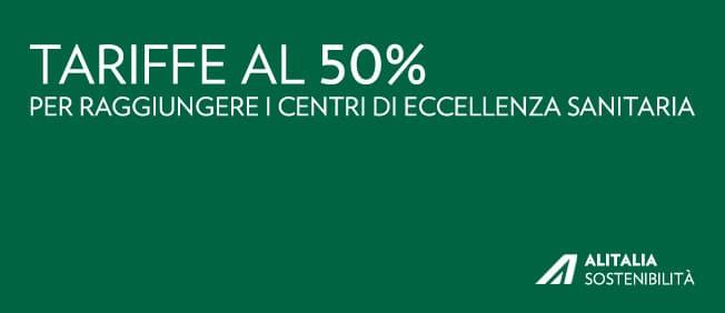 Tariffe Alitalia ospedali