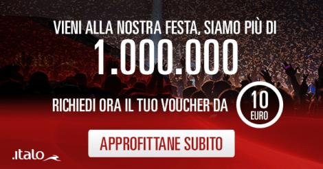 Voucher Italo 10 euro